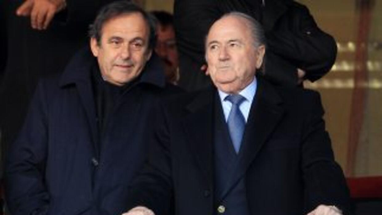 UEFA President Michel Platini has been a constant presence in South Afri...