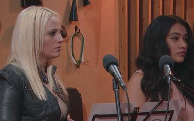 Stephanie Franco no se sentía a gusto cantando a dúo con Mary Fredette
