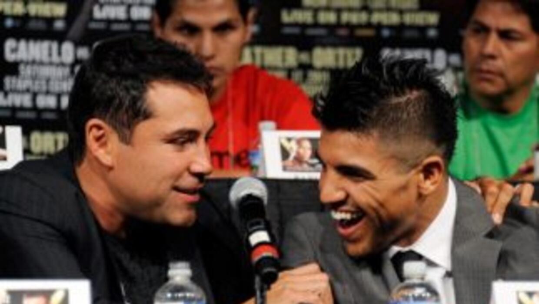 De la Hoya siempre apoyo la carrera de Ortiz.