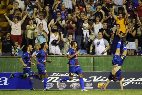 Los de azul se habían puesto al frente en el mercador con gol de Rubén S...