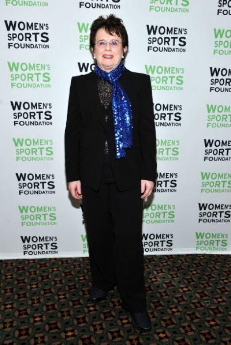 Billie Jean King es considerada una de las grandes atletas de la histori...