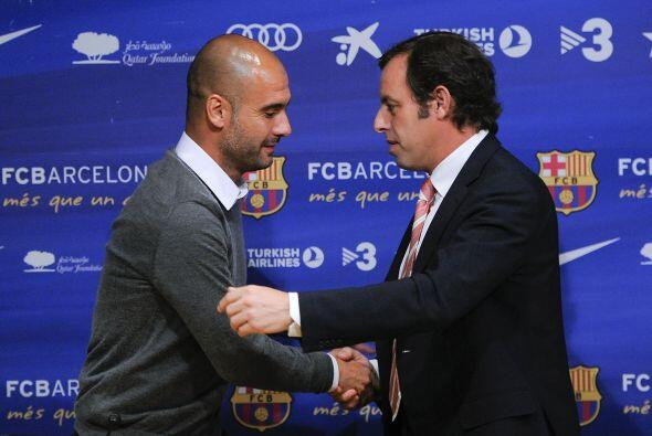 Guardiola se va del Barcelona pero deja una carrera exitosa al mando del...