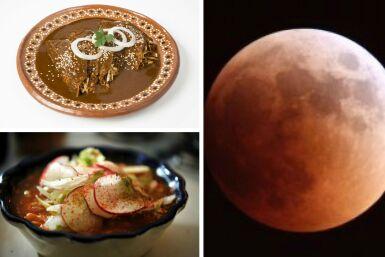 Mole, pozole, eclipse