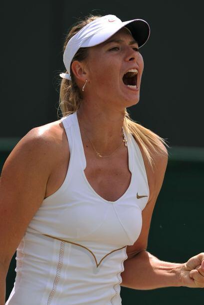 La rusa María Sharapova se clasificó a los cuartos de fina...