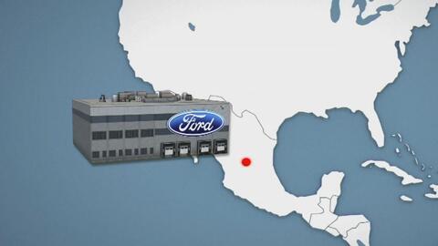 Lo que implica la nueva planta de Ford en México para sus empleados en EEUU