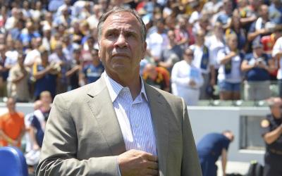 Bruce Arena, entrenador del LA Galaxy