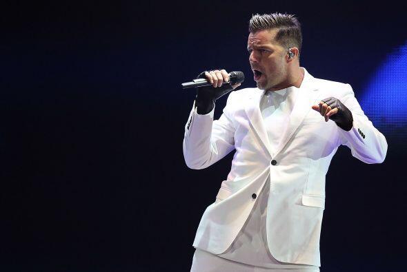 Ricky Martin es uno de los latinos con más influencia en las rede...