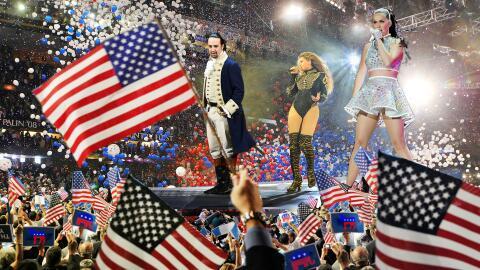 Ambos partidos buscarán la atención del público invitando a artistas del...