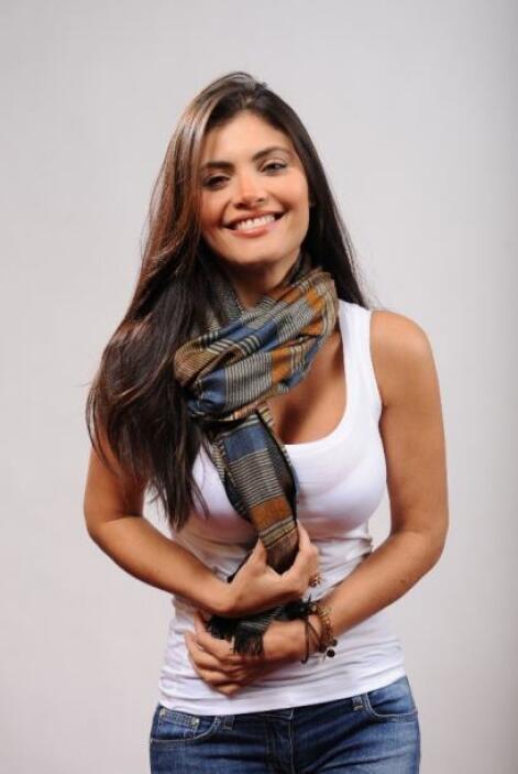 Curiosa, la animadora Chiquinquira Delgado visitó los ensayos de Premio...
