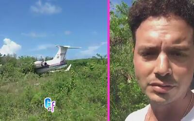 Ultima hora, J Balvin tuvo un accidente aéreo regresando de sus vacaciones