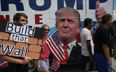 Las encuestas anticipaban que los hispanos iban a humillar a Trump como...