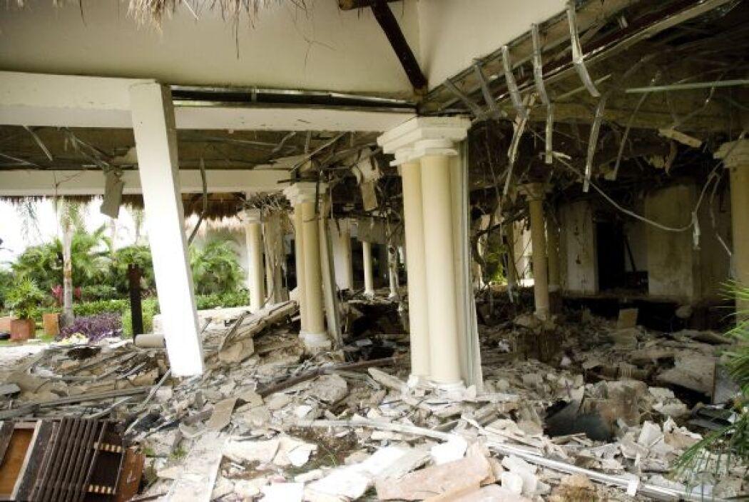 Una explosión en un hotel del balneario mexicano de Playa del Carmen, en...