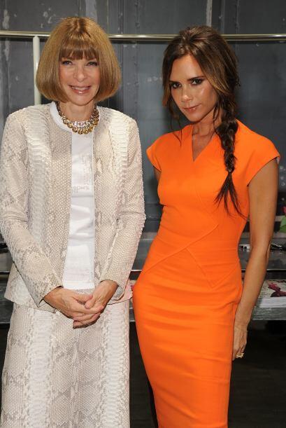 Conocer a Victoria Beckham o la editora de moda Anna Wintour para ayudar...