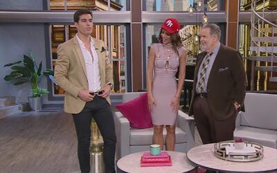 Danilo Carrera se apareció de sorpresa en las oficinas de El Gordo y La...