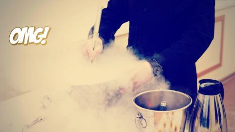 Nitrógeno en la cocina: de la alta cocina a las heladerías