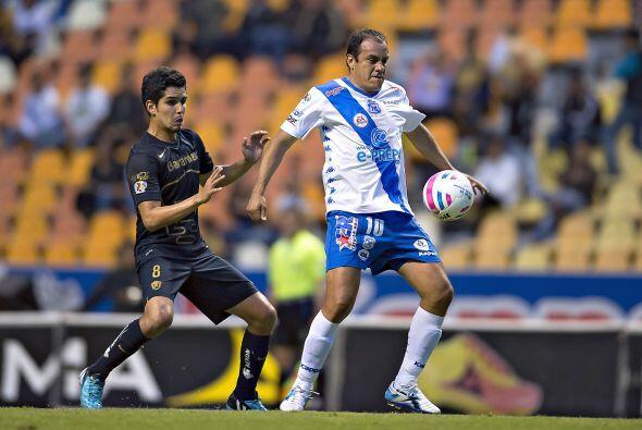 De los cuatro partidos fuera de casa, la primera visita de Puebla es en...
