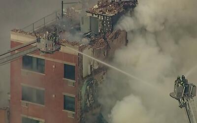 Se conmemoran tres de años de la explosión que destruyó dos edificios en...