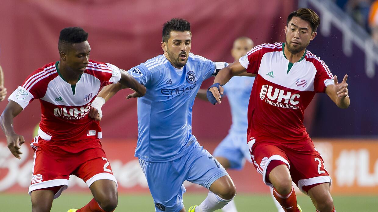 New England Revolution venció a New York City FC