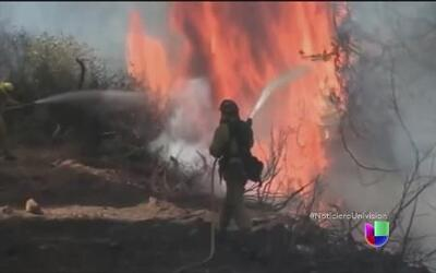 Los fuegos de California continúan causando estragos