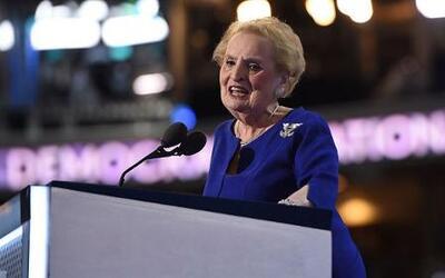 """Madeleine Albright: """"Putin está ansioso de ver ganar a Donald Trump"""""""