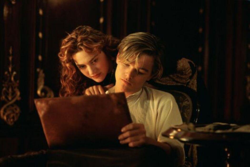 Esta romántica historia entre Jack (Leonardo DiCaprio) y Rose (Kate Wins...