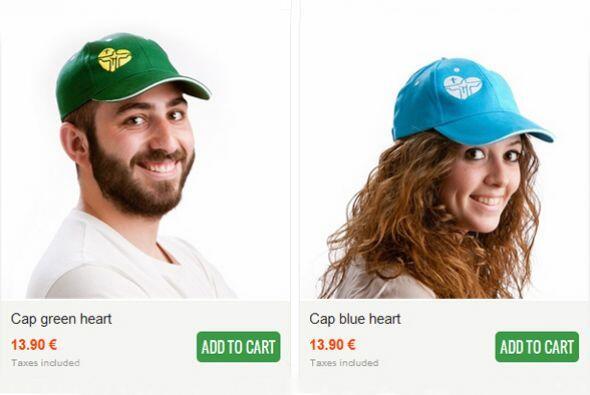 Las gorras también están disponibles en otros colores.