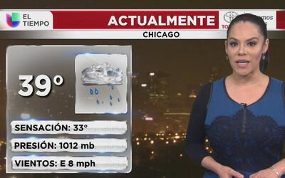 Lluvia y neblina en Chicago, el pronóstico para la noche de este jueves...