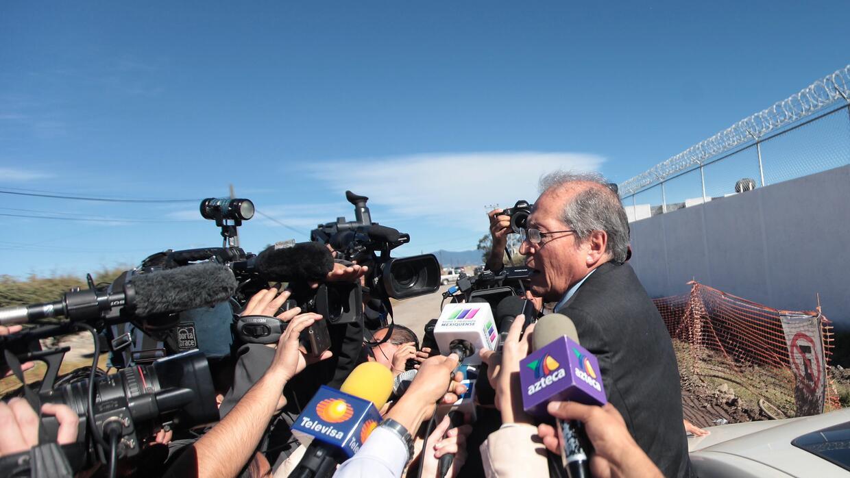 """Juan Pablo Badillo, uno de los abogados más medíaticos de """"El Chapo""""."""