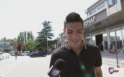 Raúl Jiménez viajó a Madrid y aprobó los exámenes médicos