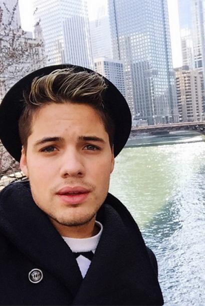 '¡Amazing city! #Chicago', escribió William. (Abril 5, 2015)