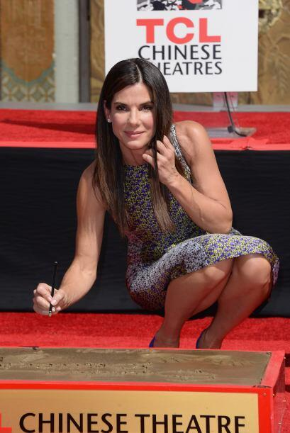Sandra sin duda es de las consentidas de Hollywood.