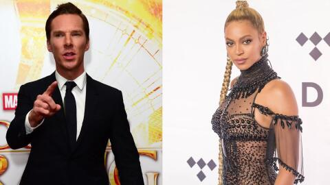 Benedict Cumberbatch es un gran fan de Beyoncé