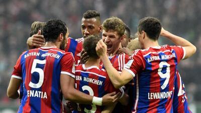 El club de Múnich goleó al Werder Bremen y su ventaja con el segundo ya...