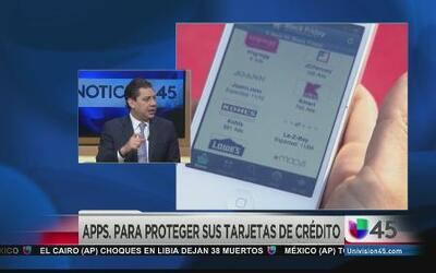 Aplicaciones para proteger sus tarjetas de crédito