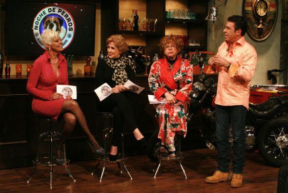 Y es que Gabriel Varela invitó a tres encantadoras suegras.