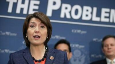La congresista republicana por Washington Cathy McMorris Rodgers.