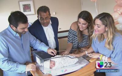 Gloria Ordaz se convierte en mamá del pequeño Diego Alejandro