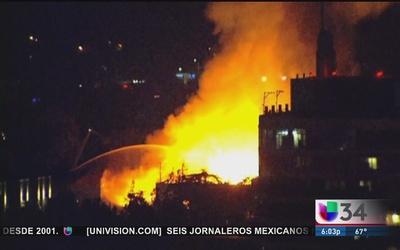 Pérdidas totales por fuego en Sacramento