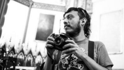 El fotoperiodista Rubén Espinosa. (Cortesía de E. Ríos).