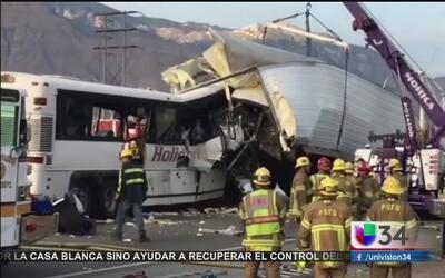 Investigan a empresa operadora de autobús accidentado