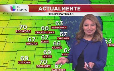 Nublados parciales y temperaturas ascendentes en Chicago, el pronóstico...