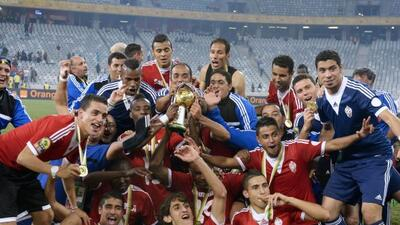 Libia celebra su primera Copa Africana.