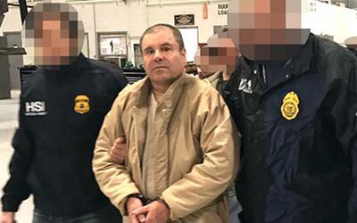 Revelan las imágenes del momento en el que 'El Chapo' Guzmán fue traslad...