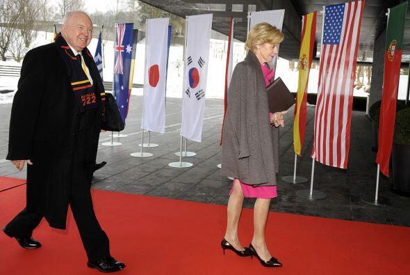 Quentin Bryce, Governadora General de Australia, acudió al evento junto...