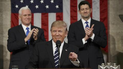 En video: Primer discurso de Donald Trump ante el pleno del Congreso (ín...