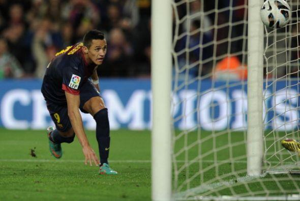 El balón fue a las redes para que Messi sume 17 jornadas consecut...