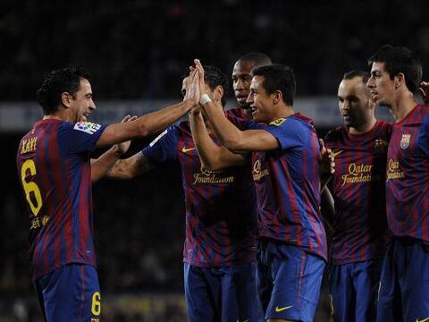 El Barcelona enfrentó al Levante sabiendo de la goleada del Real...