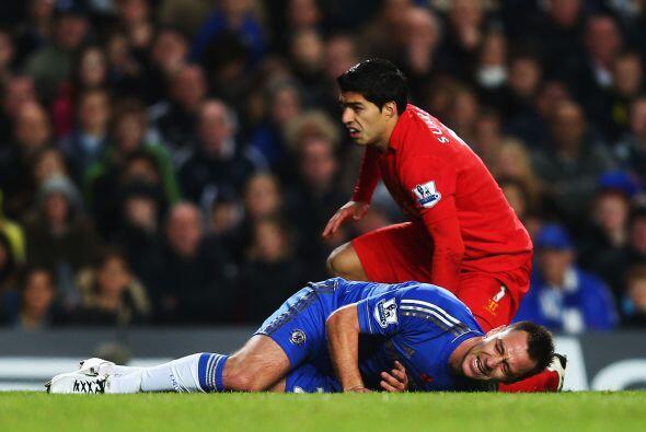 Pero no todo fueron buenas noticias para Terry, quien se lesionó...