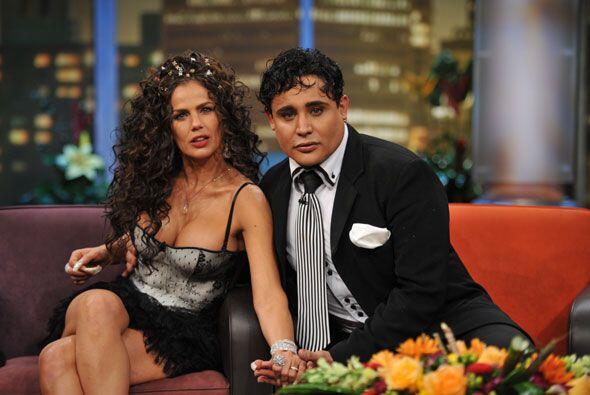 Niurka y su novio Eduardo Antonio defendieron su amor en su visita a 'Do...