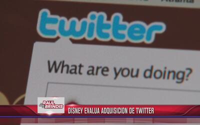 Disney evalúa adquisición de Twitter